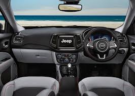 red jeep compass interior india spec jeep compass variant wise features autodevot