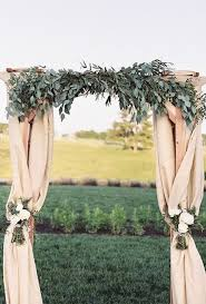 wedding arches made of branches 35 stunning eucalyptus wedding decor ideas happywedd