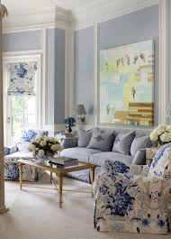 traditional home interiors living rooms 258 best blue white decor images on blue houses blue