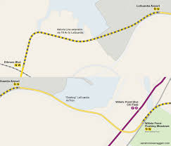 M60 Bus Route Map by Should There Even Be A One Seat Ride To The Airport