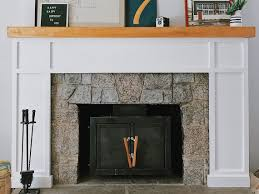 modernize your fireplace with this easy shaker surround u2013 dadsigner