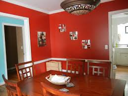 Dining Room Accent Wall by Classic Deep Red Paint Ideas For Your Dining Room Zimbio Home Red