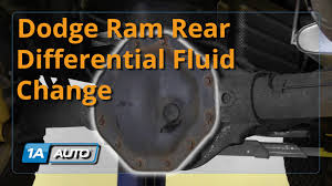 how to change rear differential fluid 2008 dodge ram 1500 buy
