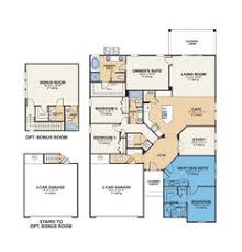 house plans with detached guest house 5582 evolution next new home plan in tortolita reserve by