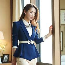 2017 2013 women u0027s blue blazers quality working career suits for