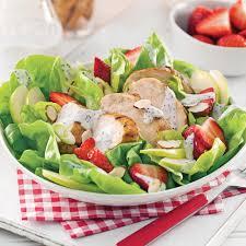 cuisine estivale salade estivale au poulet grillé recettes cuisine et nutrition
