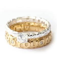 verlobungsring silber oder gold monomer ringe verlobung hochzeit gold modell trauring