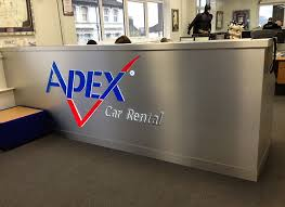 Illuminated Reception Desk Shop Signs By Signtek Eastbourne East Sussex Corporate Signage