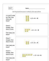 1st grade math worksheets