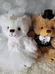 flower girl teddy flower girl mini and groom teddy bears 6 inches the lovely