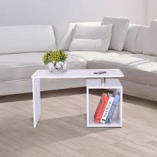 Sofa Mate Table by Homcom Coffee Table End Side Sofa Tv Stand Living Room Furniture