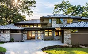 prairie style home a prairie style home by bruce lenzen design build midwest home