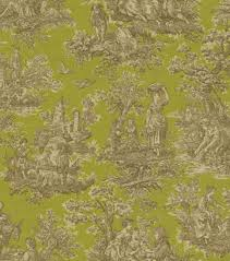 home decor print fabric waverly artisanal toile cr me de menthe