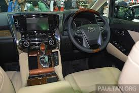 2015 Toyota Alphard Vellfire Launched In Thailand Image 321079