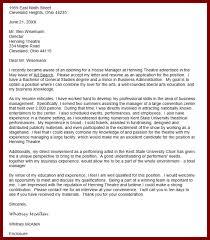 art museum director cover letter