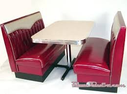 diner style booth table big bopper booth set chevy rolled back commercial quality