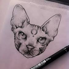 34 best realistic cat tattoo images on pinterest tattoo ideas