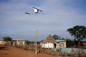 Solar Power Traffic Lights by Solar Power Lights Up Township Streets Infrastructure News
