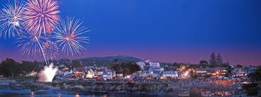 lanterns fireworks pacific grove feast of lanterns fireworks by wangxingphotography