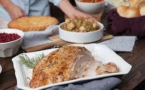 traditional turkey breast dinner