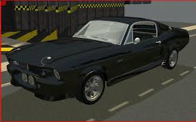 Black 1967 Mustang Mod The Sims 1967 Shelby Gt 500 Mustang Flat Colors
