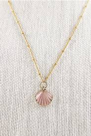 necklace with shell pendant images Necklace mermaid charm seashell pendant necklace sincerely jpg