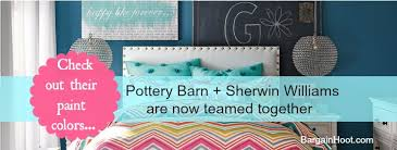 pottery barn and sherwin williams paint team together