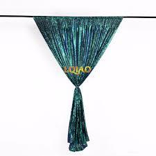 20x10ft color change green rose gold shimmer sequin backdrop