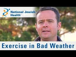 Bad Weather Meme - ask a national jewish health cardiologist if you should exercise