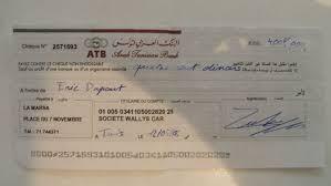 si e atb tunisie comment remplir un chèque tunisie comment remplir