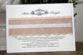 wedding invitations toronto monogram line of wedding invitations