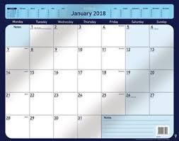 collins 2018 desk pad calendar planner large a2 size ebay