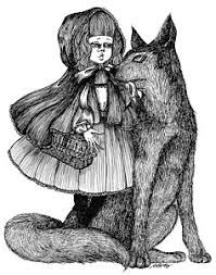 red riding hood drawings fine art america