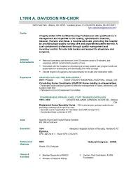 Rn Resume Template Free Exles Of Resume Amazing Design Cna Sle Resume 11 Best
