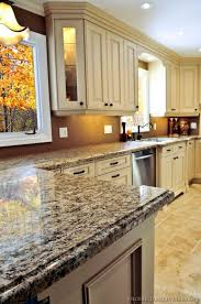 Antique Cream Kitchen Cabinets 21 Best Kitchen Images On Pinterest Kitchen Brown Granite And