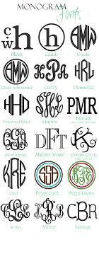 wording wedding invitations3 initial monogram fonts these would be great to use with a silhouette cameo vinyl