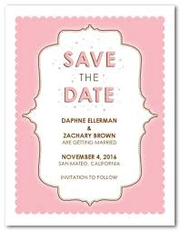 save the date baby shower printable pink save the date template
