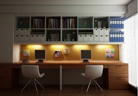 home idea office fascinating large home office design with open ceiling