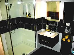 black tile shower preferred home design