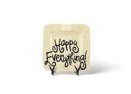 happy everything platter neutral dot happy everything mini platter coton colors