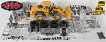1 14 scale earth mover 870k hydraulic wheel loader