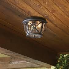 Outdoor Flush Mount Lighting Fixtures Kichler Exclusives 39429 Gableville Castine 2 Light Outdoor Flush
