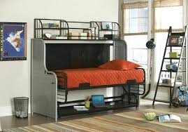 loft bed with futon and desk futon bunk bed with desk loft bed