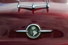1955 oldsmobile 88 ornament photograph by reger