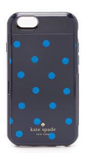 kate spade new york glitter dot iphone 6 iphone 6s stowaway case