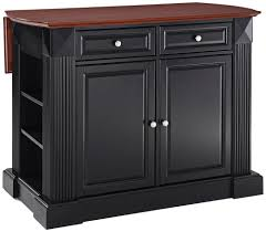 amazon com crosley furniture drop leaf kitchen island breakfast
