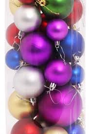 ornaments multi color shatterproof shiny