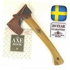 Handmade Swedish Axe - gransfors bruk wildlife hatchet 13 50 inch axe handmade in sweden