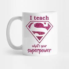 super teacher superteacher mug teepublic