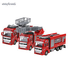 abbyfrank 1 48 scale fire engine model alloy car toy miniature